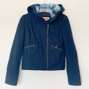★ MOSSIMO SUPPLY CO | WARM JACKET HOODIE CLIPS OFF